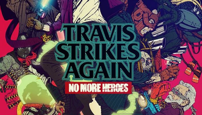 A new artwork for Travis Strikes Again No More Heroes
