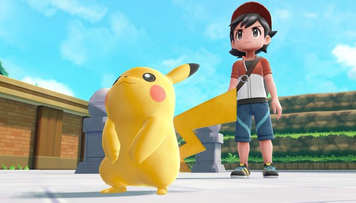 Pikachu is ready to tackle the Elite Four in the Pokémon Let's Go games