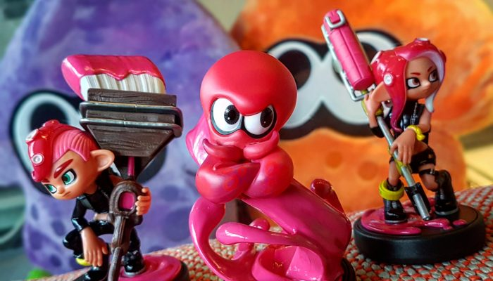 The Octoling amiibos are here in Europe