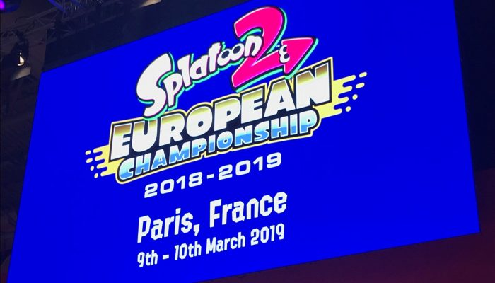 The Splatoon 2 European Championship finals will take place in Paris, France on March 9 and 10