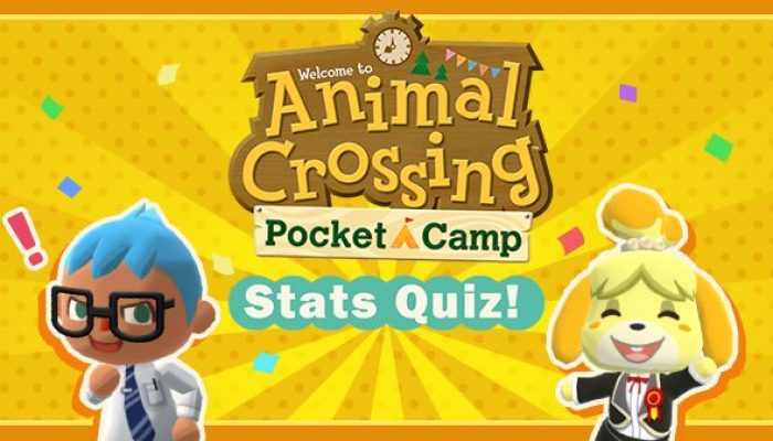 Animal Crossing Pocket Camp celebrates its first-year anniversary with a Stats Quiz