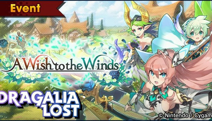 A Wish to the Winds facility event in Dragalia Lost