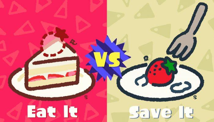 Eat It vs. Save It Splatfest announced for Europe in Splatoon 2