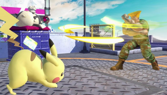A look at Guile as an Assist Trophy in Super Smash Bros. Ultimate