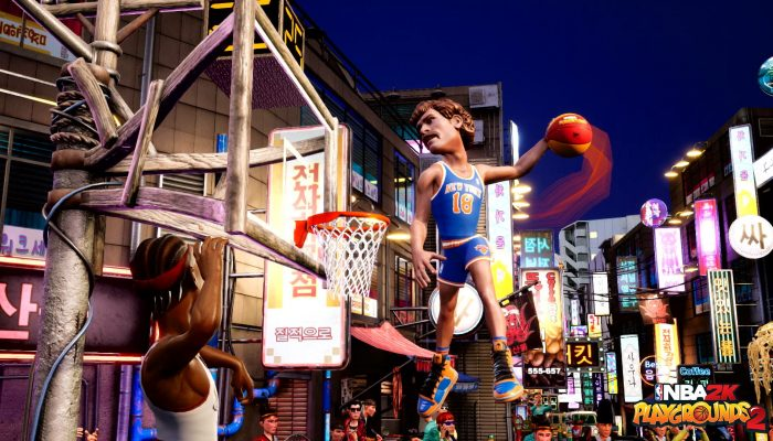 Allen Iverson, Wilt Chamberlain and more legendary players have arrived in NBA 2K Playgrounds 2