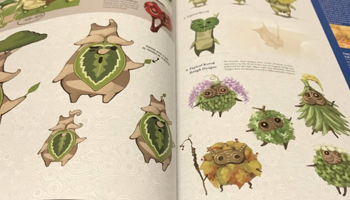 The Legend of Zelda Breath of the Wild Creating a Champion encyclopedia available now