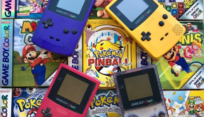 Game Boy Color celebrates its 20-year anniversary