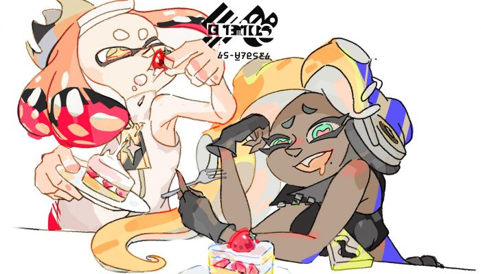 Here's the artwork for the Eat It vs. Save It Splatfest