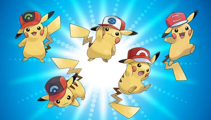 Pokémon: 'Get Pikachu Wearing Ash's Hats'
