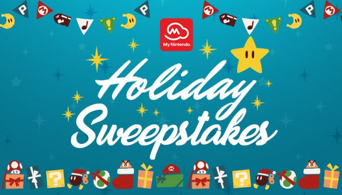NoA: 'My Nintendo 2018 Holiday Sweepstakes'