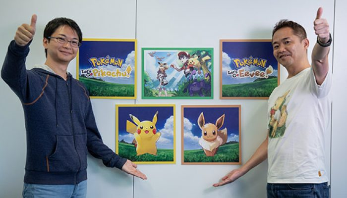 Pokémon: 'Meet the Makers of Pokémon: Let's Go, Pikachu! and Pokémon: Let's Go, Eevee!'
