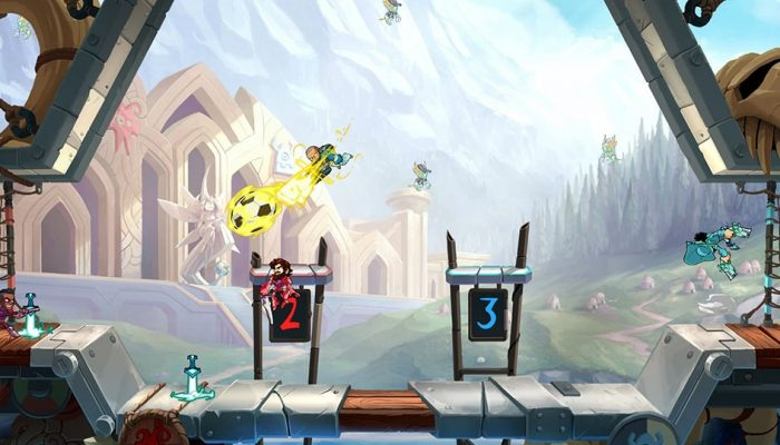 Ubisoft: 'Rayman and Kung Foot Arrive in Brawlhalla November 6'