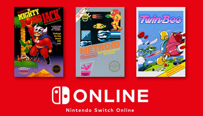 NoA: 'Nov. update! New games are now available for Nintendo Entertainment System – Nintendo Switch Online.'