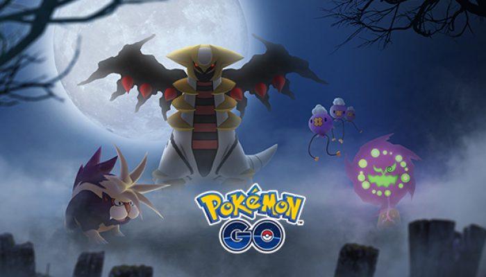 Pokémon: 'Spooky Pokémon from Sinnoh Come to Pokémon Go'
