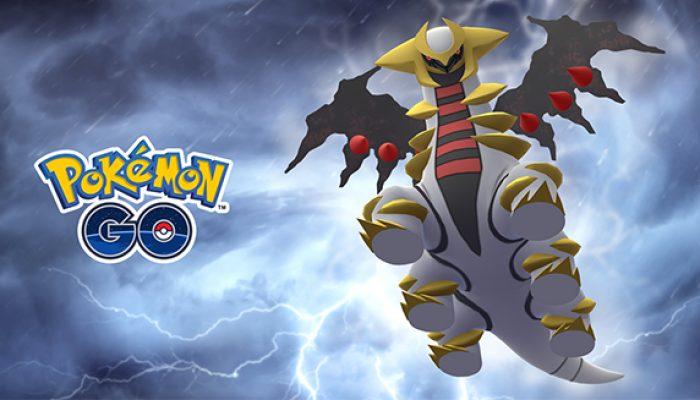 Pokémon: 'Grab Giratina in Pokémon Go'