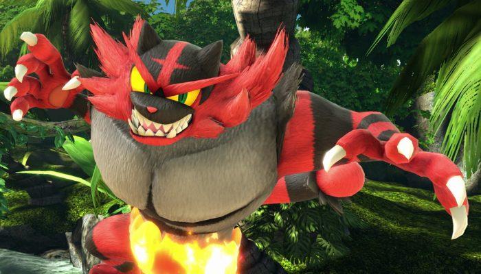 Super Smash Bros. Ultimate – Incineroar Fighter Screenshots