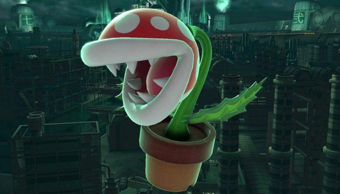 Super Smash Bros. Ultimate – Piranha Plant DLC Fighter Screenshots