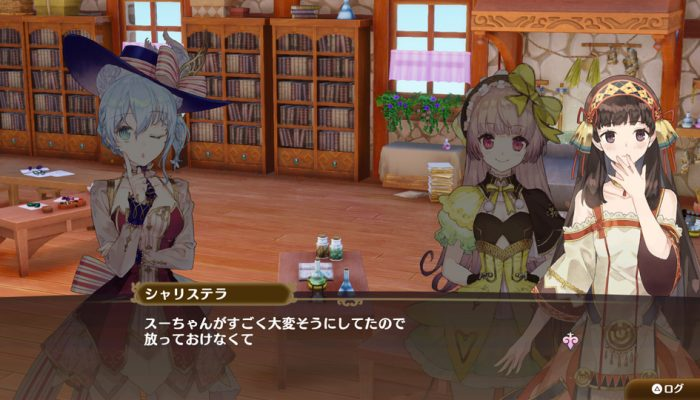 Nelke & the Legendary Alchemists: Ateliers of the New World – Japanese New Characters Art and Screenshots