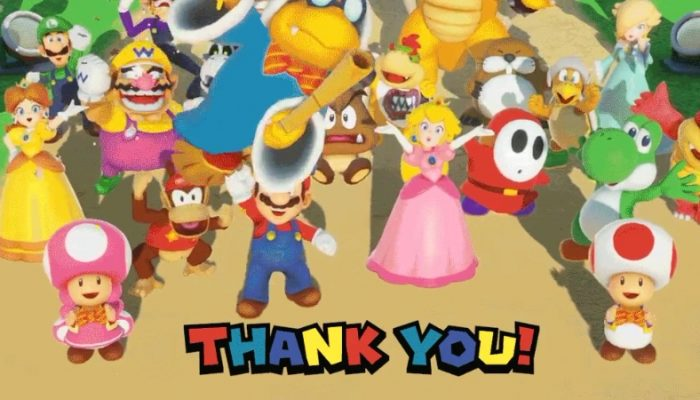 Super Mario Party crossed a million units sold in the United States alone