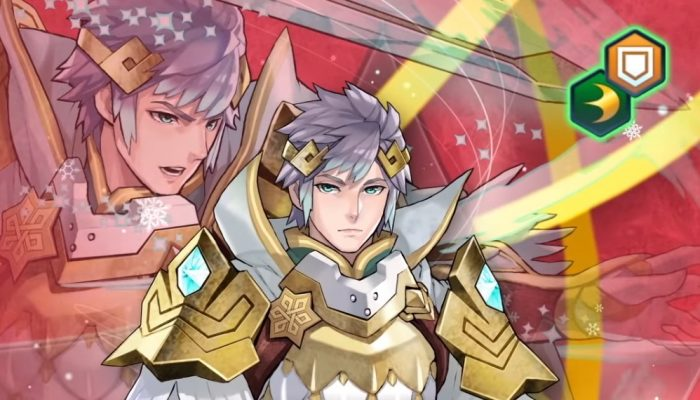 Fire Emblem Heroes – Legendary Hero (Hríd: Icy Blade) Trailer