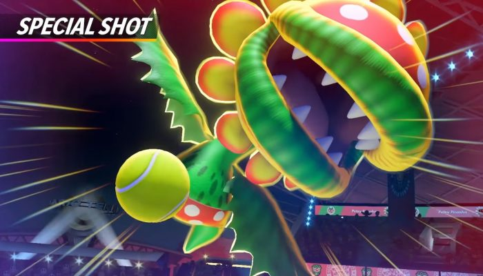 Mario Tennis Aces – Petey Piranha Showcase