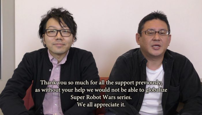 Super Robot Wars T – Producer Message