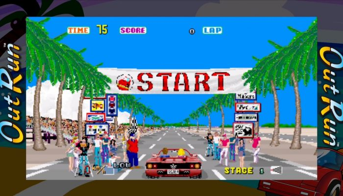 SEGA Ages – Japanese Out Run Overview Trailer