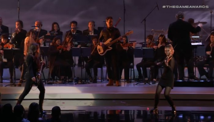 The Game Awards Orchestra performing music from Super Smash Bros. Ultimate at The Game Awards 2018