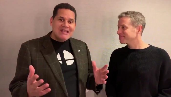 Reggie and Geoff's parting words to Nintendo viewers for The Game Awards 2018