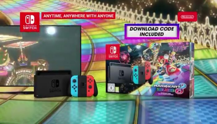 A limited Nintendo Switch Mario Kart 8 Deluxe bundle is now available in Europe