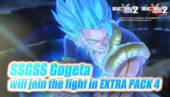 Dragon Ball Xenoverse 2 – Extra Pack 4 Teaser Trailer