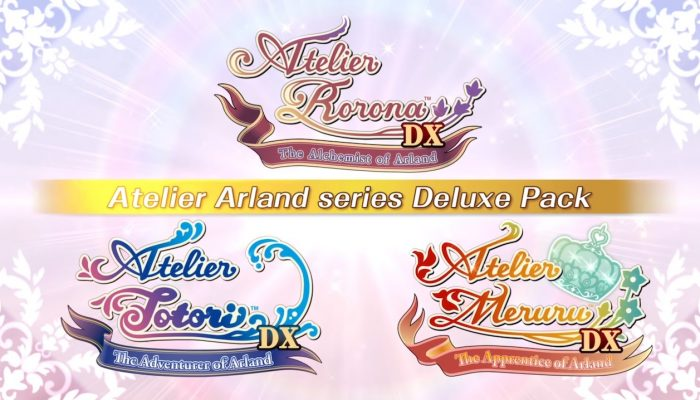 Atelier Arland Series Deluxe Pack – Launch Trailer