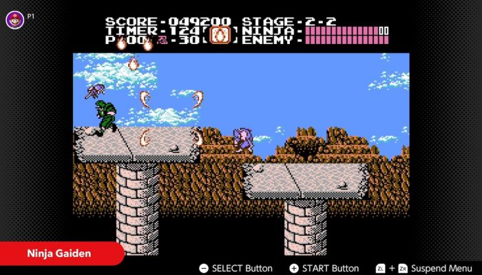 NES Nintendo Switch Online – December Game Updates