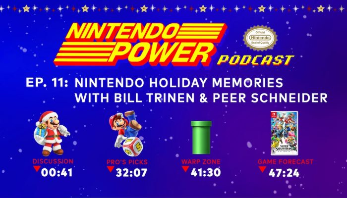 Nintendo Power Podcast – Nintendo Holiday Memories with Bill Trinen & Peer Schneider