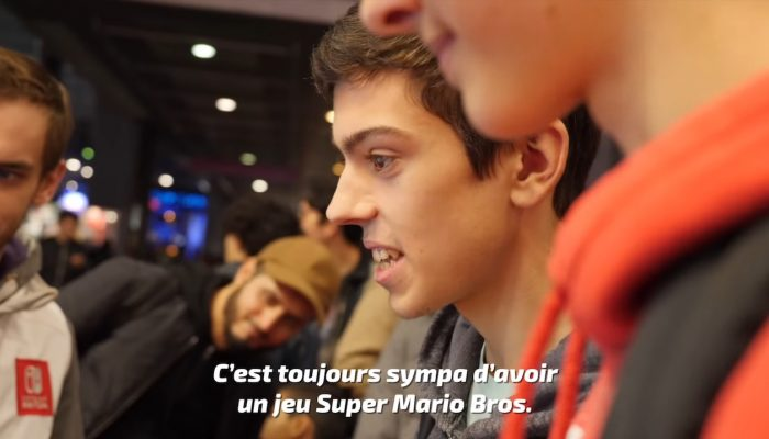 New Super Mario Bros. U Deluxe – Réactions de joueurs à la Paris Games Week 2018