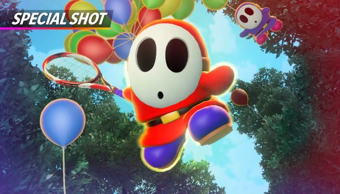 Mario Tennis Aces – Shy Guy Showcase