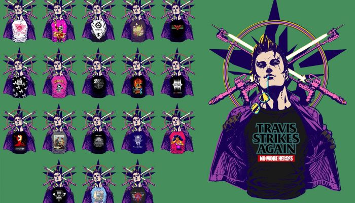 Even more Travis Strikes Again indie T-shirts