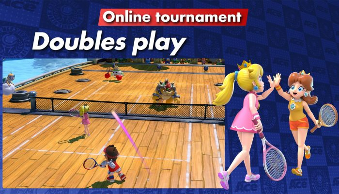 Doubles play added to online tournaments in Mario Tennis Aces