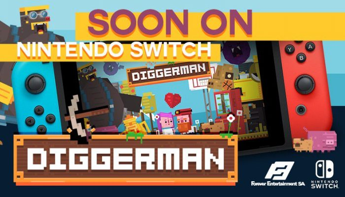 Diggerman announced for Nintendo Switch