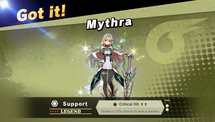 Super Smash Bros. Ultimate and Xenoblade Chronicles 2 team up for a Mythra spirit and outfit collaboration