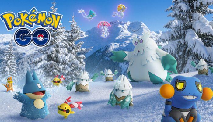 Pokémon: 'Winter Wonders in Pokémon Go'