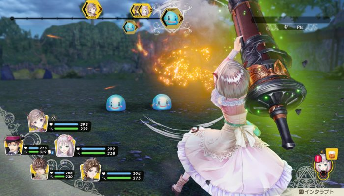 Atelier Lulua: The Scion of Arland – Japanese Characters and Gameplay Screenshots