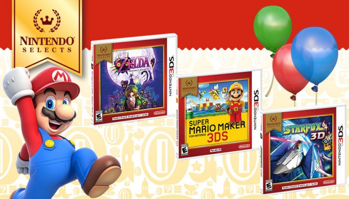 NoA: 'Classic Mario, Zelda and Star Fox games for Nintendo 3DS to join Nintendo Selects lineup'