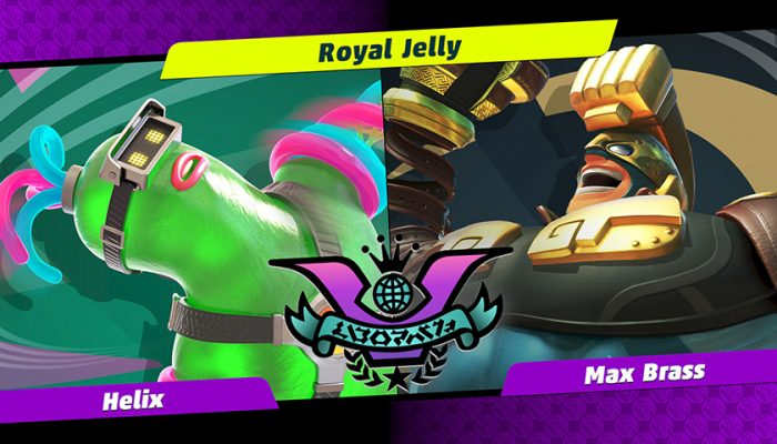 NoA: 'Get ready for Party Crash Bash! Choose your corner, as Helix and Max Brass face-off.'