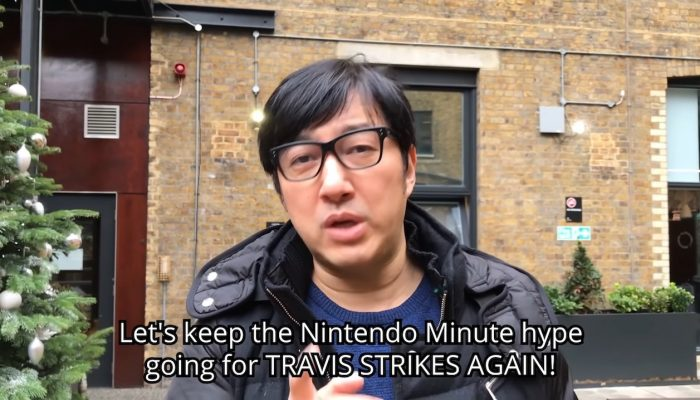 Nintendo Minute – Travis Strikes Again: No More Heroes Co-op Gameplay