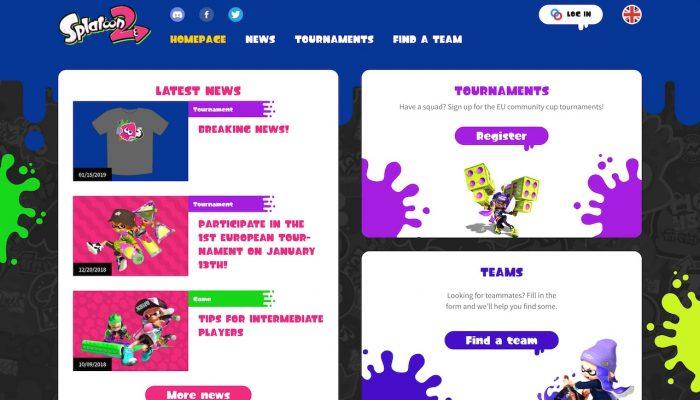 NoE: 'Introducing the new Splatoon 2 tournaments website!'