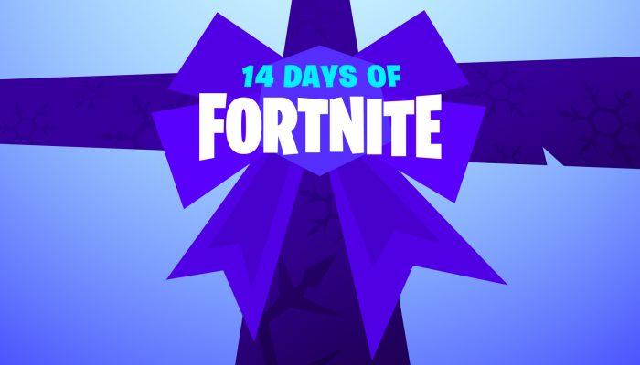 Fortnite: 'Update On 14 Days of Fortnite'