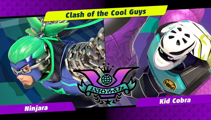 NoA: 'Gear up for the next Party Crash Bash! Choose your corner, as Ninjara and Kid Cobra duke it out'