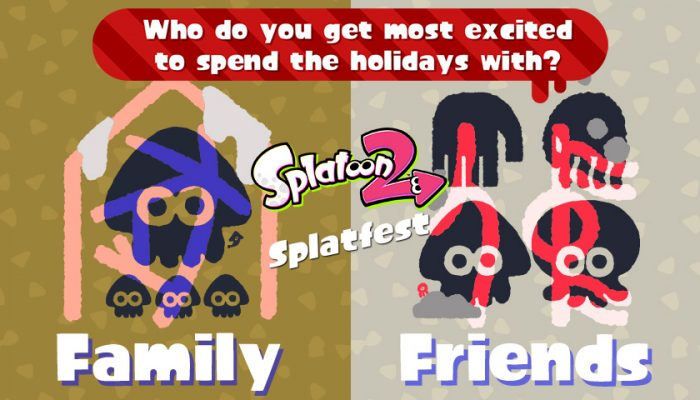 NoA: 'Celebrate Frosty Fest with a winter-themed Splatfest this weekend!'