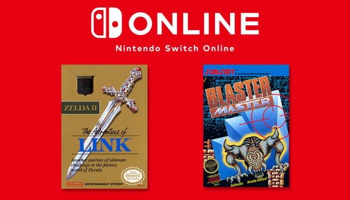 NoA: 'Two classic adventures arrive on NES – Nintendo Switch Online on Jan. 16'
